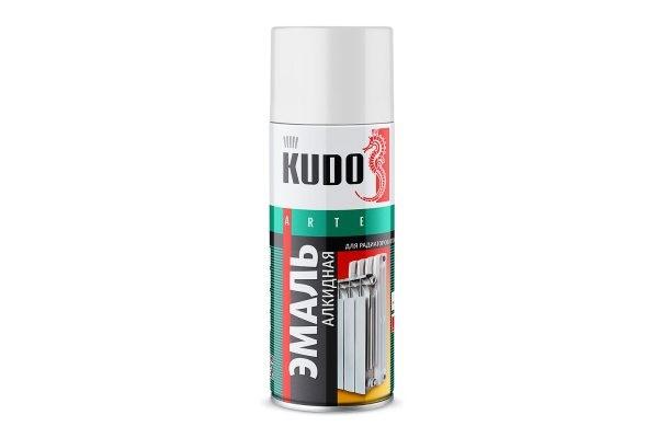 'Краска аэрозоль KUDO 520мл Белая для радиаторов KU-5101