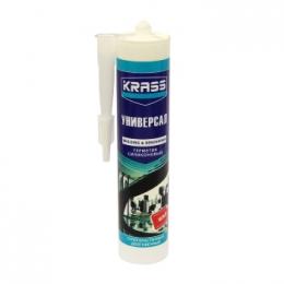 'Герметик KRASS силикон универсальный белый 300 мл