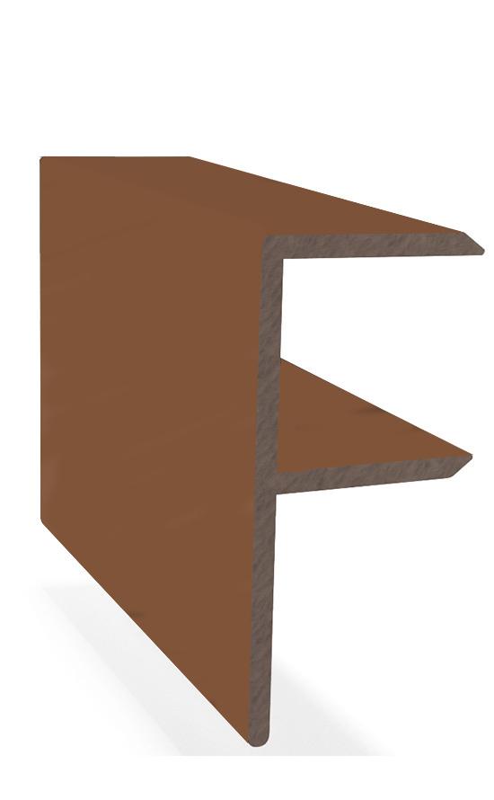 Террасный F-профиль ДПК 3м