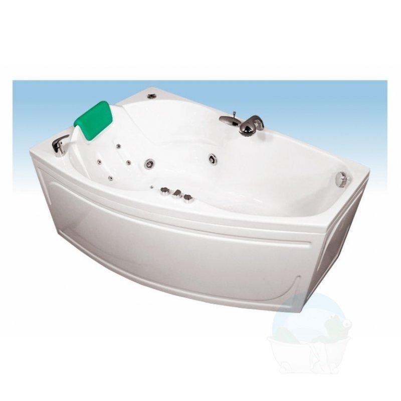 Ванна акриловая Бриз правая 1500х950х670 мм в полной  комплектации