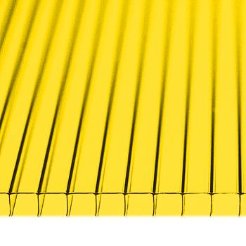 Поликарбонат 4мм желтый