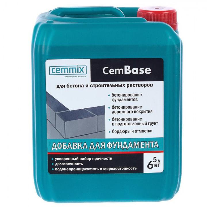 Добавка для фундамента CemBase 5 л