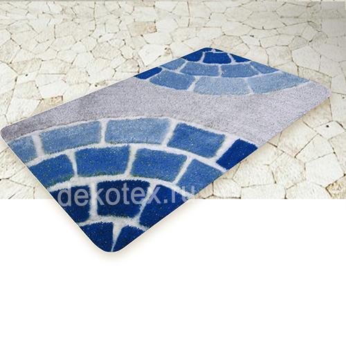 'Коврик для ванной BANYOLIN SOFT PILE 60*100см Керамик 27мм голубой