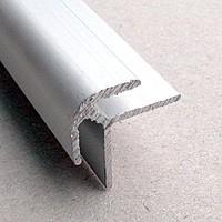 Профиль алюмин. Г-образный для соедин.шиферной полосы 25х10х25х450