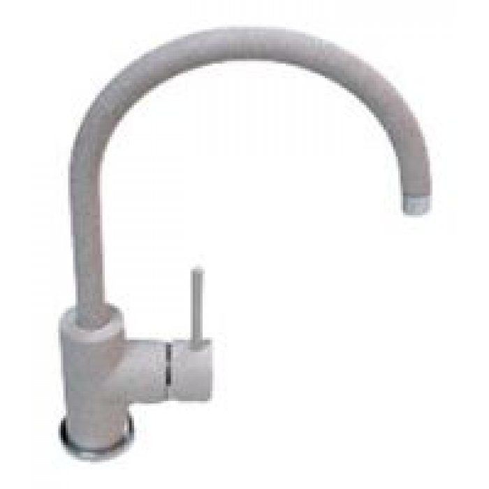 3023 Смеситель U-образD-35мм для кухни серый