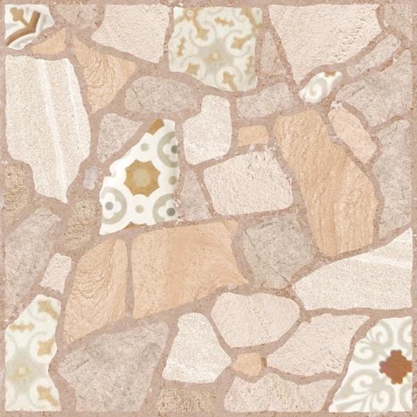 Керамический гранит Fabio бежевый (C-FB4R012D) 42х42