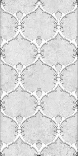 Декор Преза серый (04-01-1-08-03-06-1017-1) 20х40