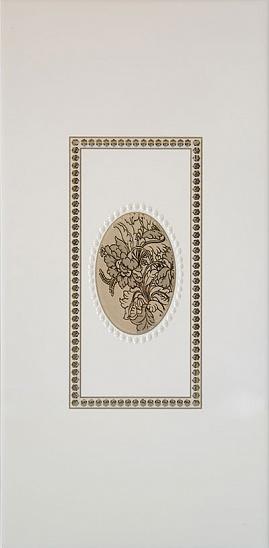 Декор Мидаль коричневый (04-01-1-08-03-15-249-0) 20х40