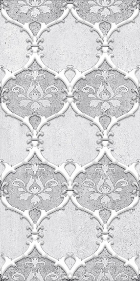 Декор Преза серый (04-01-1-08-03-06-1017-2) 20х40