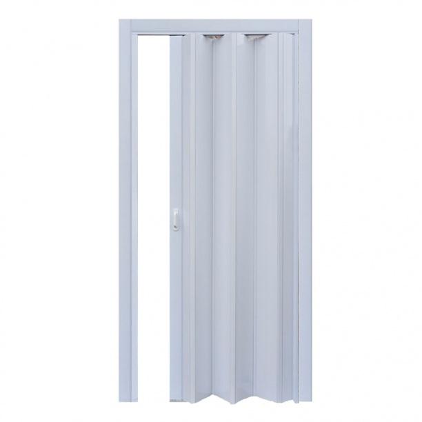 Дверь раскладывающаяся Стиль белый глянец