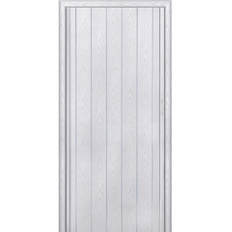 Дверь раскладывающаяся Стиль серый ясень