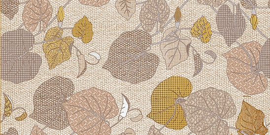 Декор Пене коричневый (04-01-1-10-05-15-1013-0) 25х50