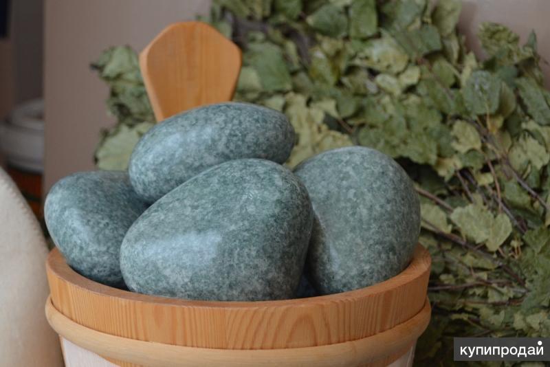 Камни для бани ЖАДЕИТ Люкс шлифованный 10 кг