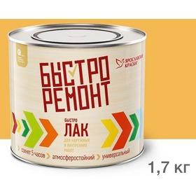 'Лак Ярославский Быстролак 1,7 кг бесцветный