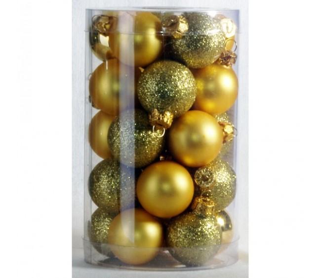 'Набор новогодних шаров большие