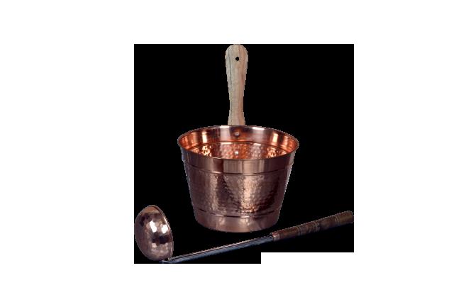 Ушат+ковш медь (2790р.)