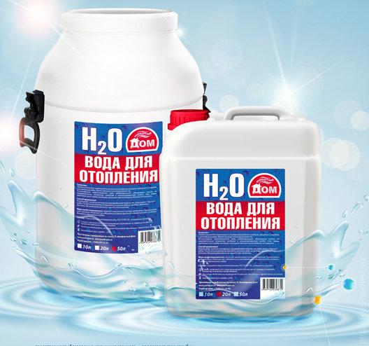 'Вода для систем отопления 20л
