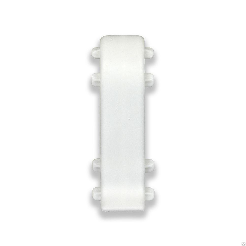 Соединение Идеал 80мм 001G Белый глянец