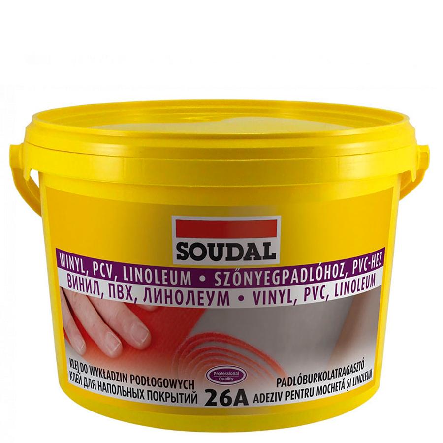 Клей для напольных покрытий Соудал 26 А 5 кг