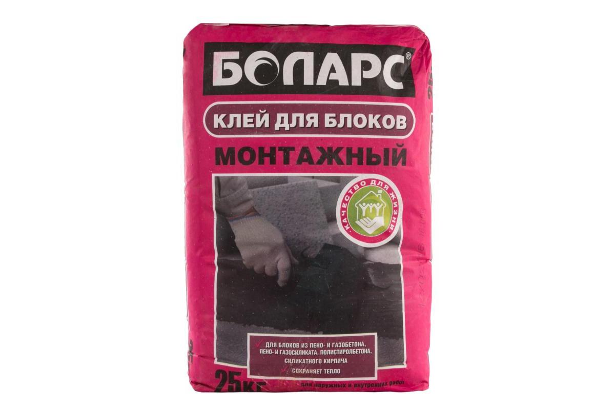 'Клей МОНТАЖНЫЙ 25кг. БОЛАРС