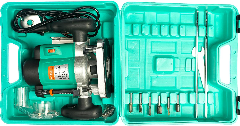 Фрезер ШТУРМ ER 1112,1200Вт,11500-34000 об/мин,цанга 6мм,8мм