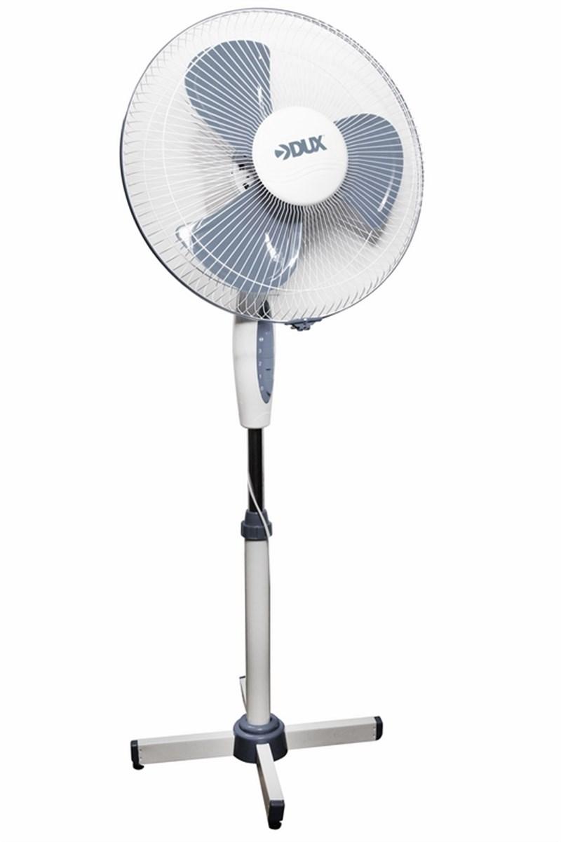 Вентилятор  напольный DX-17,40Вт,бело-серый 60-0201