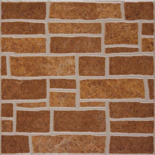 Плитка напольная МОНТЕ коричневая 32,7х32,7