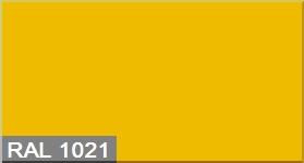 Эмаль по металлу Goodhim RAL 1021 желтый глянец 3л