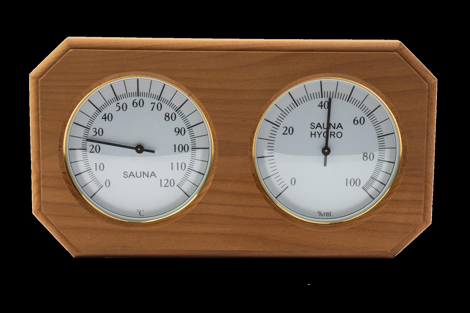 Термогигрометр 8- угольник ТН-22С (Контраст)
