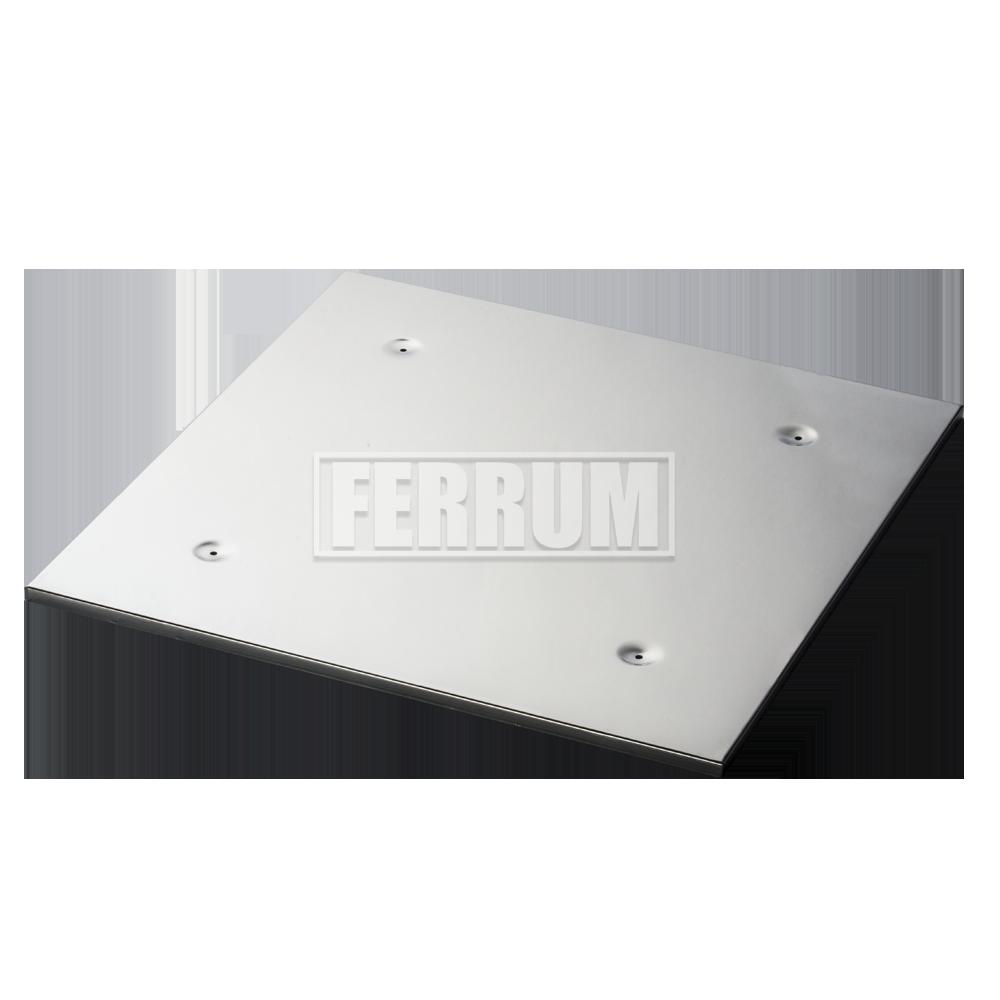 Экран защитный нерж.980х980 мм с отверстиями
