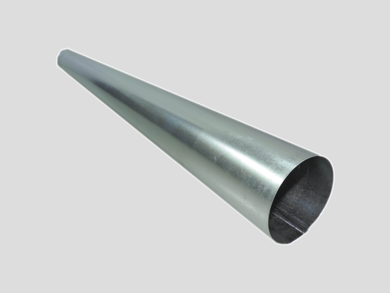 'Труба-стояк для дымохода ф136 мм оцинк.