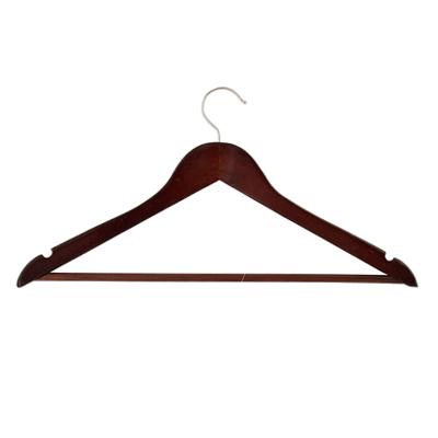 Вешалка деревянная  венге 455-044
