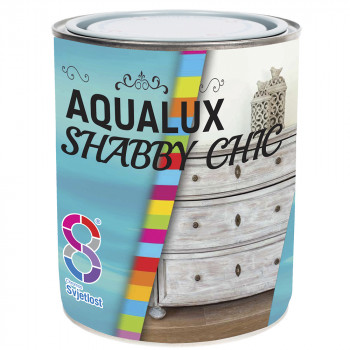 Краска декоративная AQUALUX Chabbi Chic 0,2л Белое кружево