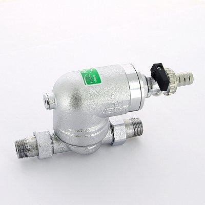 Фильтр 100мкм под манометр поворотное соединение 1/2 НР