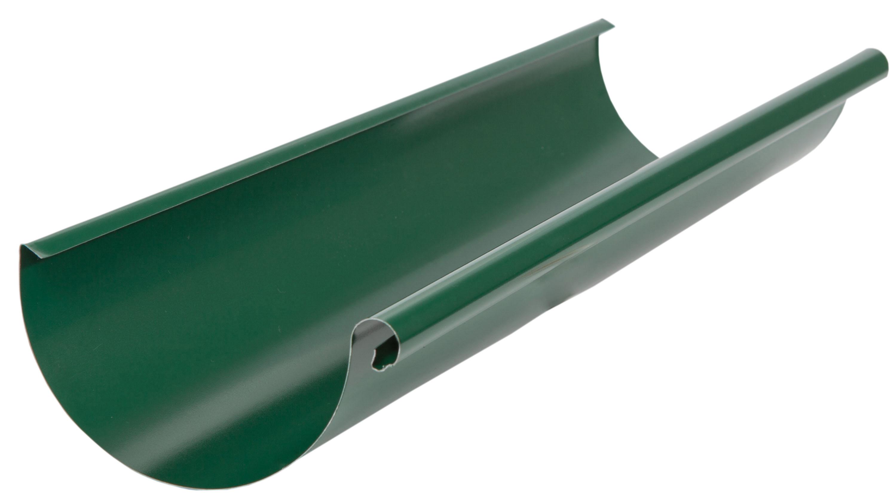 Желоб водосточный ф125х3000 зел
