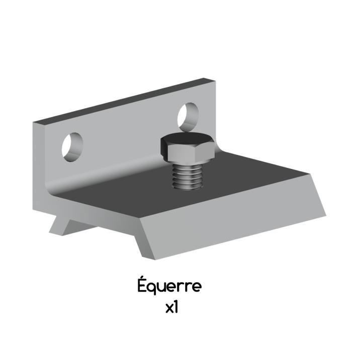 Комплект 5 скоб для шины HERKULES-2 к стене