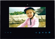 'Видеодомофон цветной CS-300SV(C)-15.2-х канал.цвет.диагональ 7