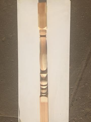 Столб заходной сосна 1200х80х80 мм№16