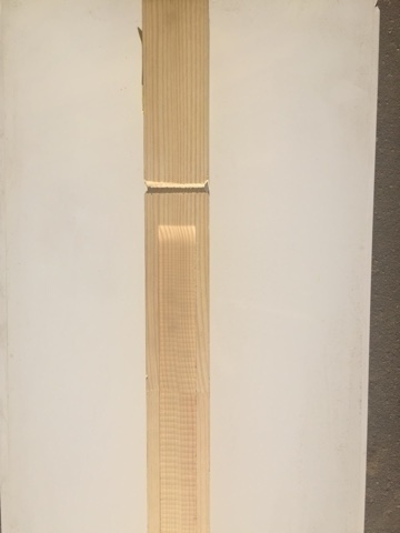 Колонна сосна 2500х100х100 мм (Т4)