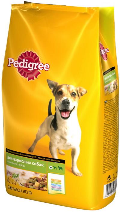 Педигри для взрослых собак всех пород отл.пищ.600гр