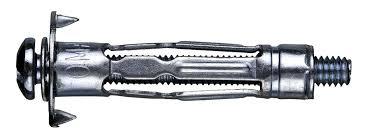 'Дюбель металл для пустот.констр.5х24 (винт М5х71) (4шт) Моль