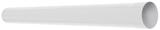 Аквасистем Труба водосточная система 90/125, L=1,0 м (белый)