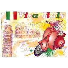 Наклейки Метилан Вива Италия 47х67см