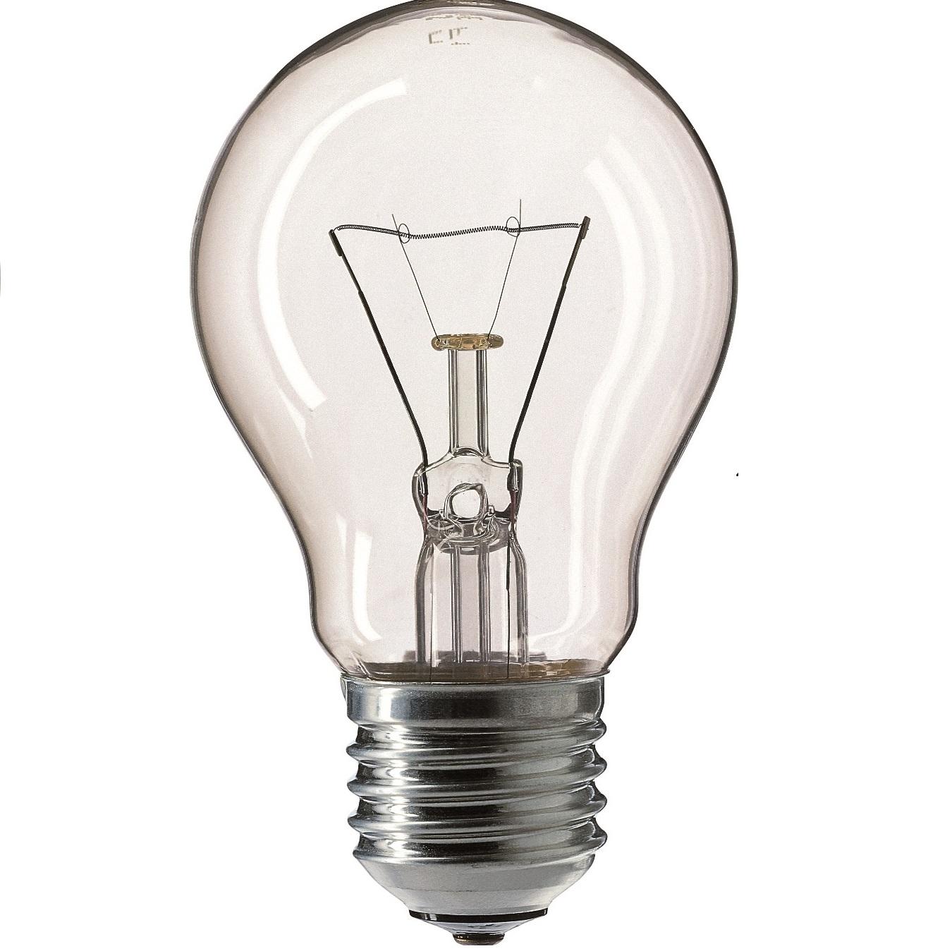 'Лампа станд. прозр. 60 W