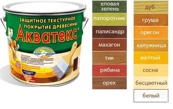 'Акватекс 3л  сосна деревозащитное средство