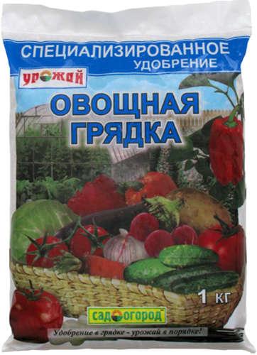 'УРОЖАЙ Овощная грядка 1кг