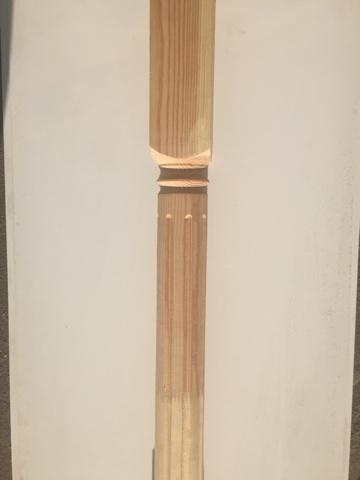 Колонна сосна 2500х100х100 мм (Т3)