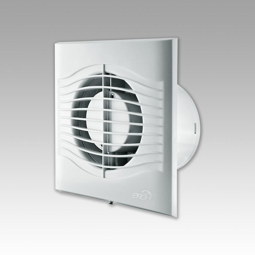 Вентилятор накладной осевой слим 4С