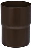 Аквасистем Соединитель трубы, система 90/125 (коричневый RR32)