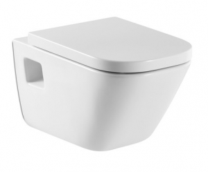 'Чаша подвесного унитаза, 35х54 см, цвет белый Roca The Gap